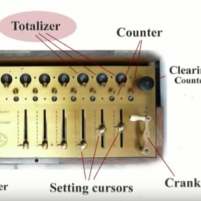 Aritmometro Payen - 3 operazioni