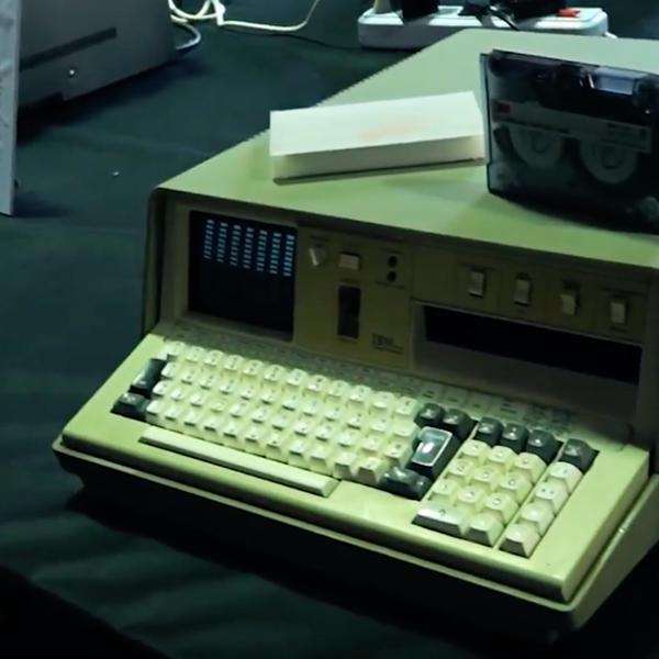 IBM 5100 - Vintage Computer Festival Italia 2018