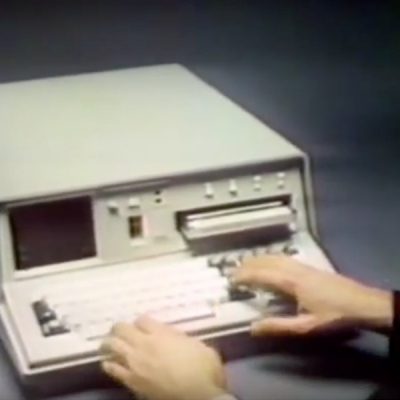 IBM 5100 commercial 1977