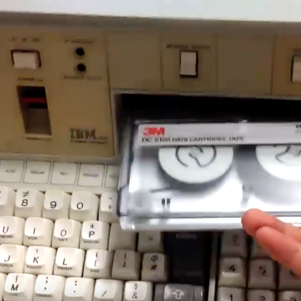 Introducing the IBM 5100 Portable Computer from 1975