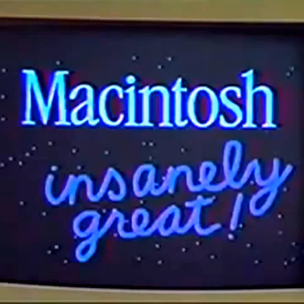 Jobs Macintosh keynote 1984
