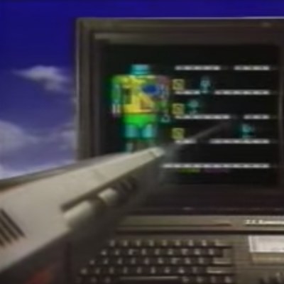 Sinclair ZX Spectrum - Italian TV Spot - Agente Speciale ZX Spectrum